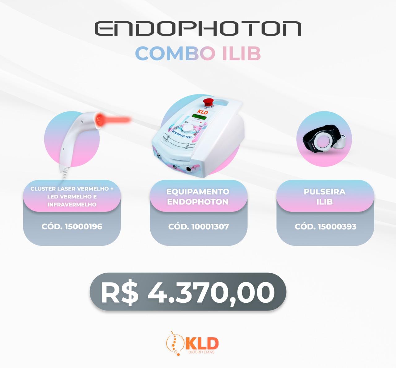Combo ILIB - Endophoton Fototerapia e laserterapia -  KLD