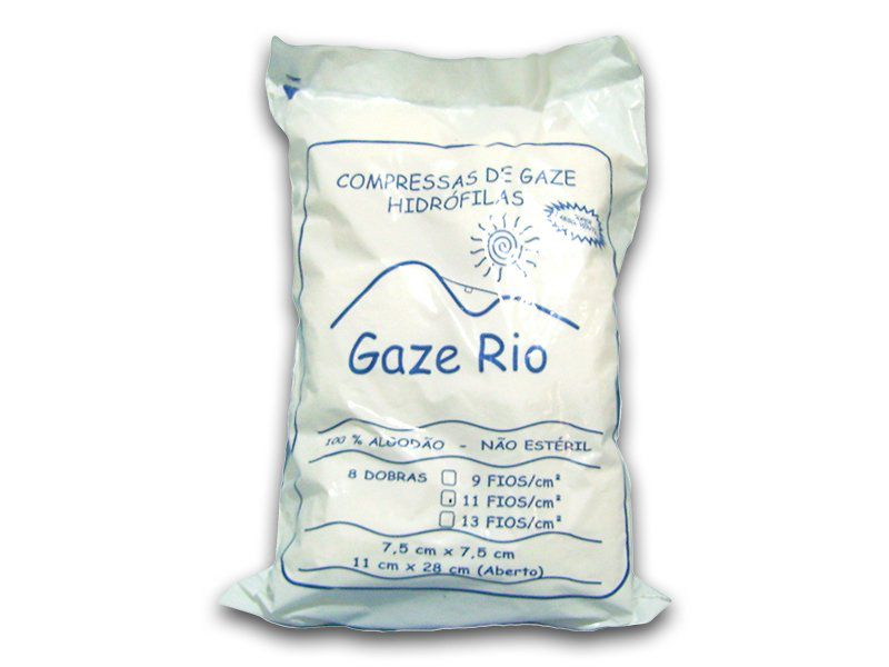 Compressa de Gaze - 13 fios - Herlau Atacadista