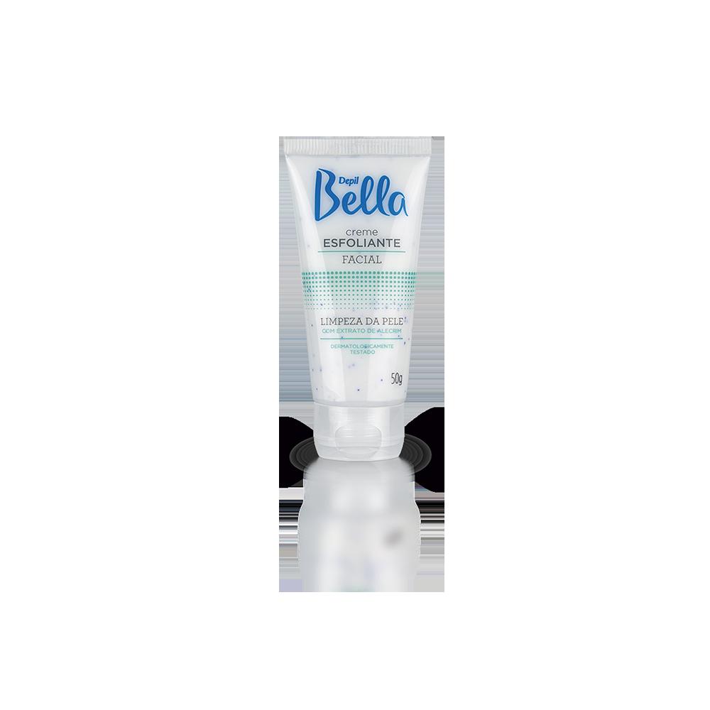 Creme esfoliante Facial de Alecrim 50g - Depil Bella
