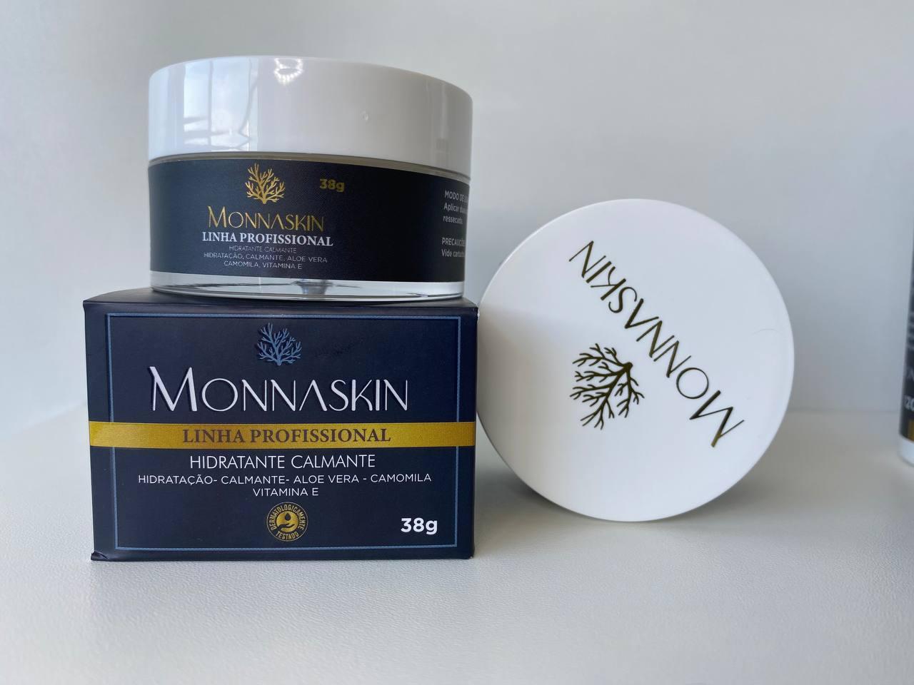Creme Hidratante Calmante 38g - Linha Profissional Monnaskin
