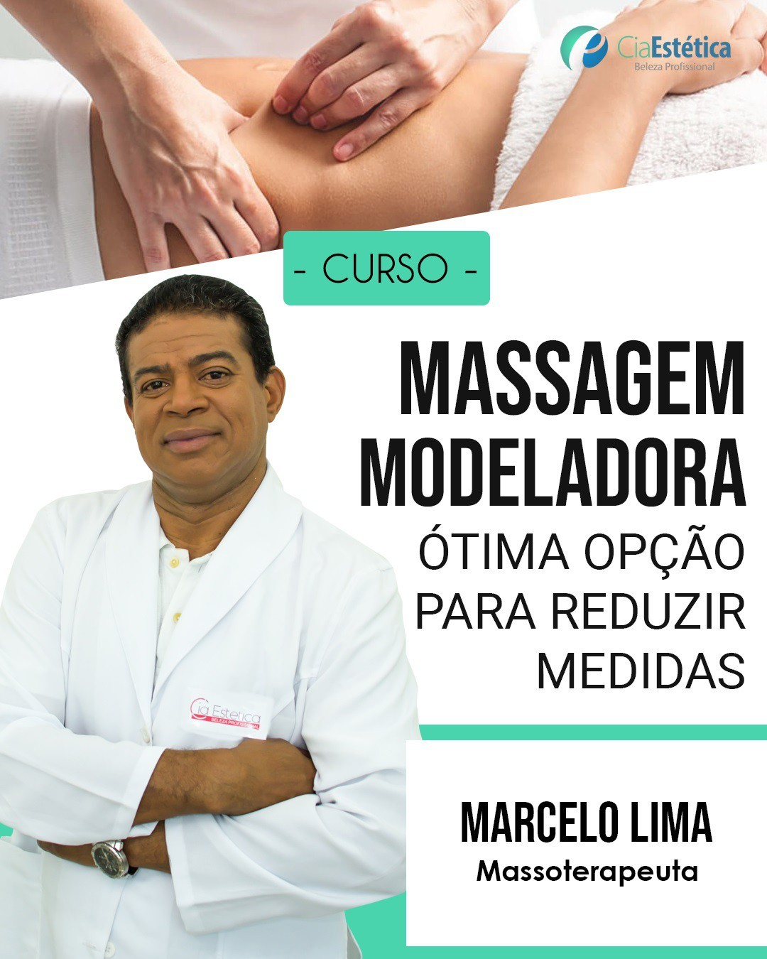 Curso de Massagem Modeladora Master Training