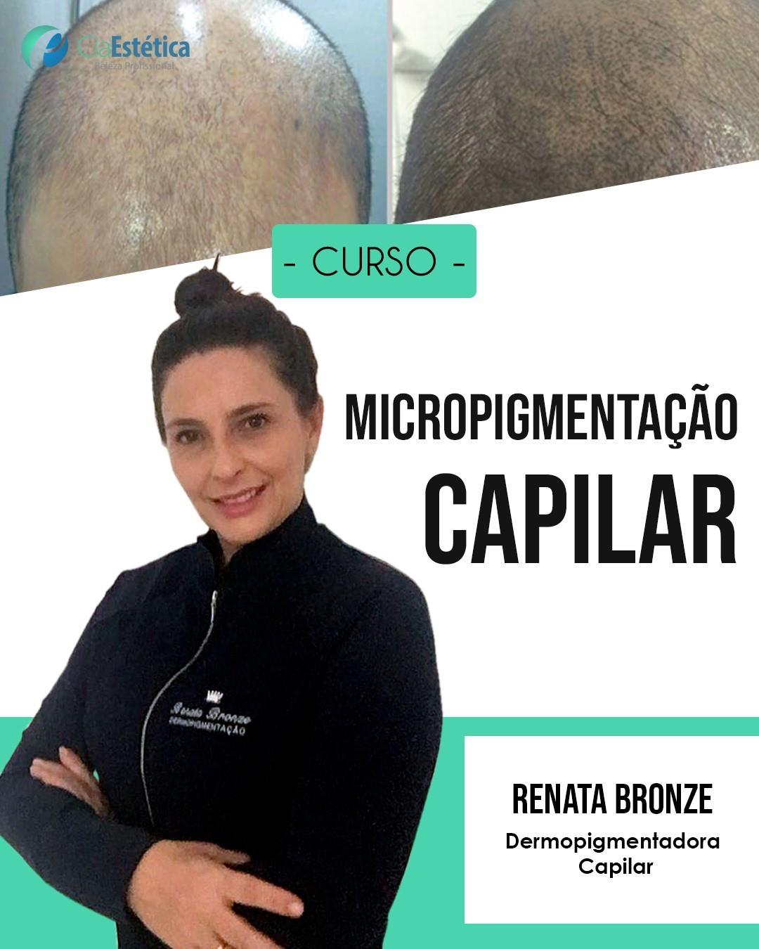 Curso Master Training de Micropigmentação (Tricopigmentação) Capilar