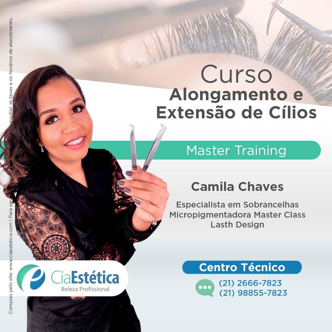 Curso Master de Alongamento e Extensão Cílios Clássico (Fio a fio )