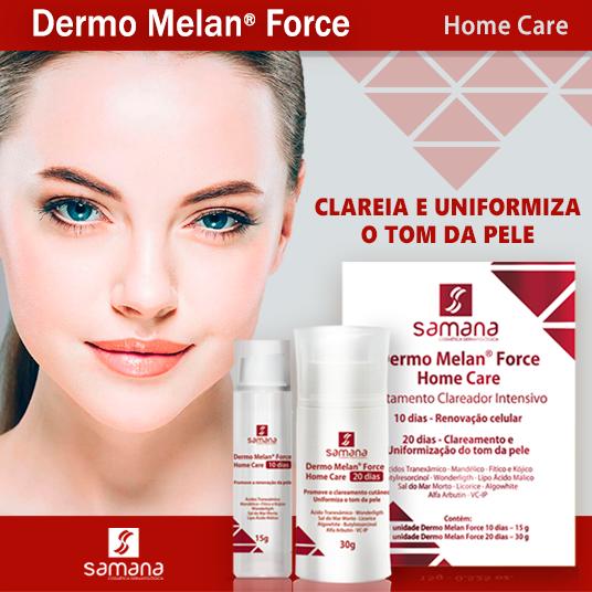 Dermo Melan Force - HOME CARE 10 dias 15g + 20 dias 30g - Samana