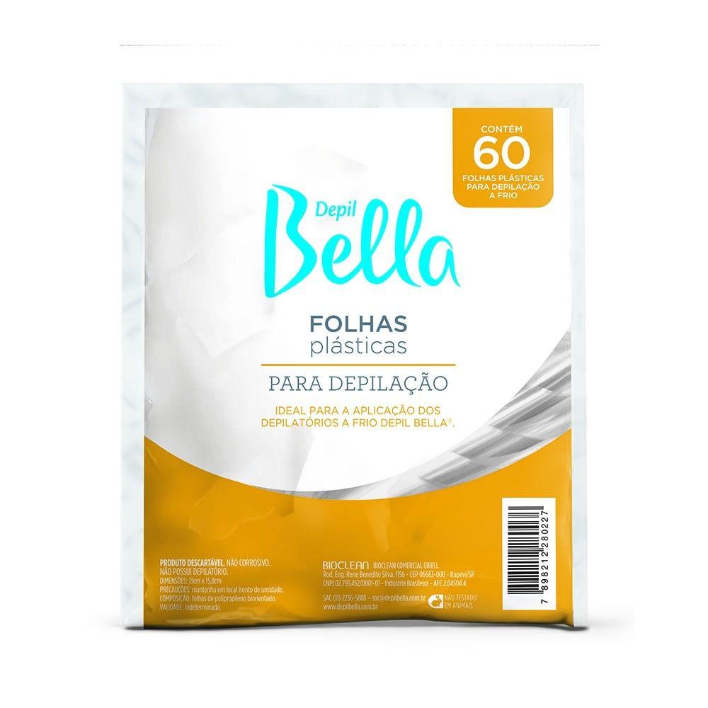 Folhas Plasticas para depilação- Depil Bella