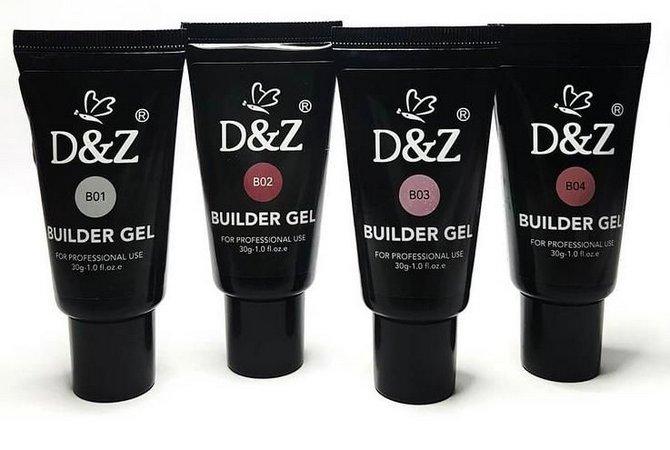 GEL BUILDER BISNAGA 30ML D&Z ACRIGEL UNHAS