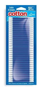 Hastes Flexíveis 80 Unid 50 Blister - Cotonete Cotton Line