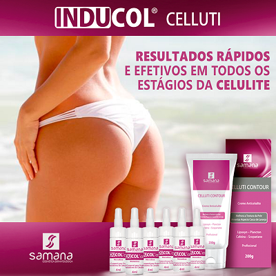 Kit Inducol Celluti USO PROFISSIONAL - Samana