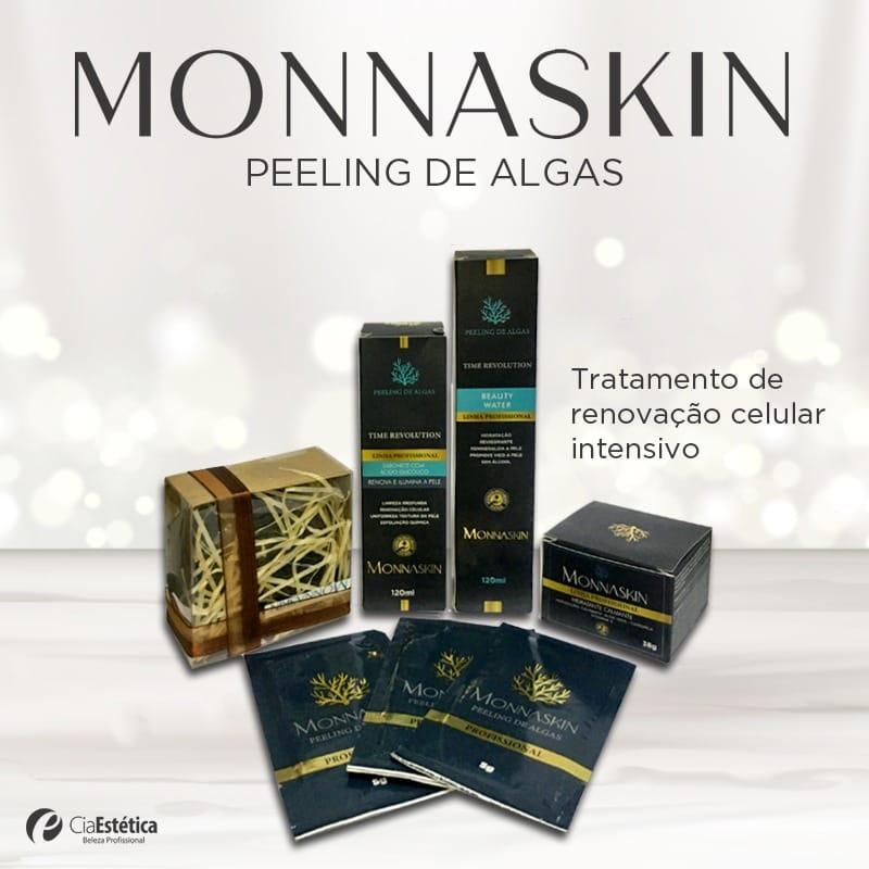 Kit Profissional Peeling de Algas + BRINDE MONNASKIN SOAP - MONNASKIN