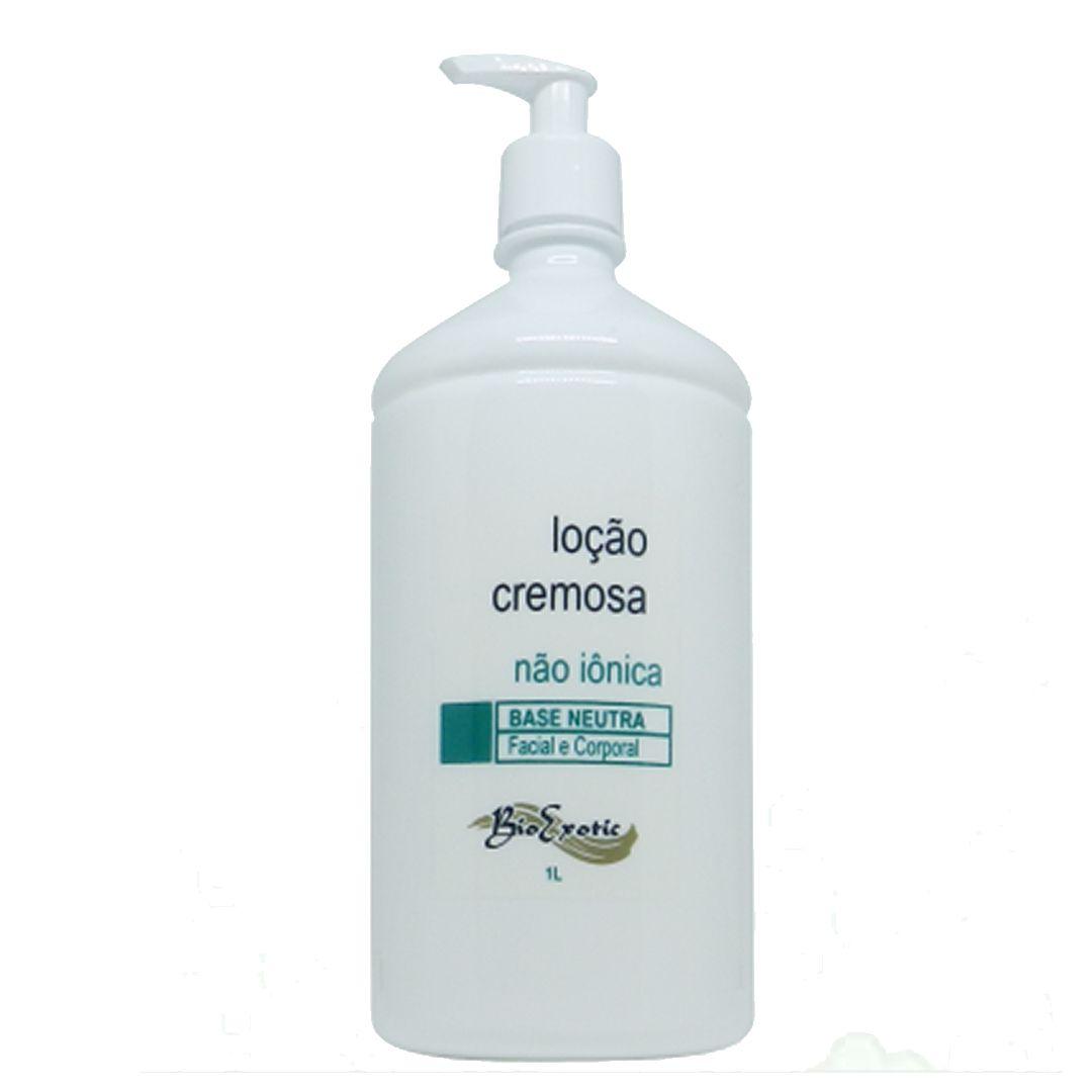 Loção cremosa base hidratante 1L -Bio Exotic