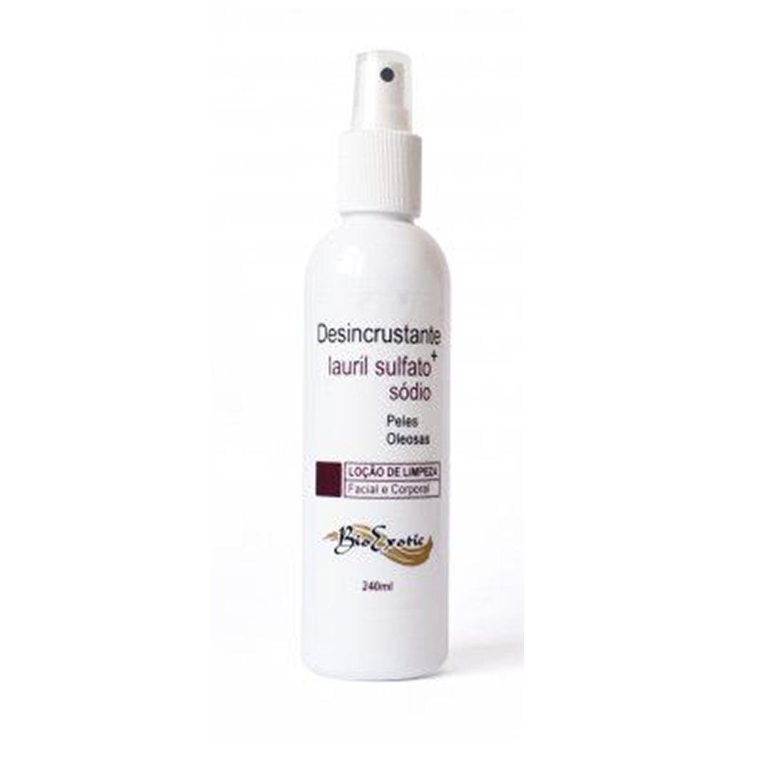 Loção de Limpeza Facial Desincrustante com Lauril Sulfato de Sódio 240 ml - Bioexotic