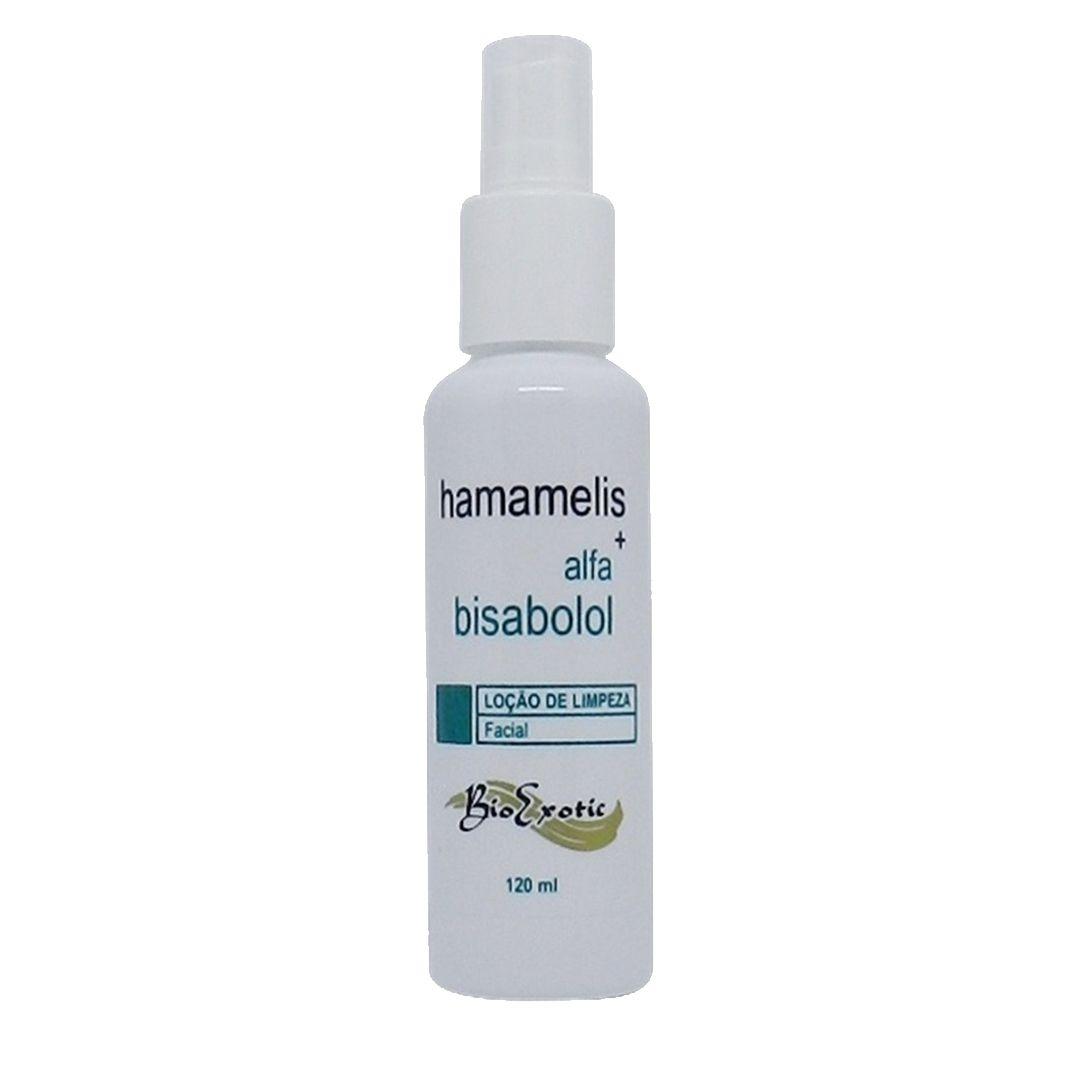 Loção para Limpeza Facial com Hamamelis e Alfa bisabolol- Bio Exotic
