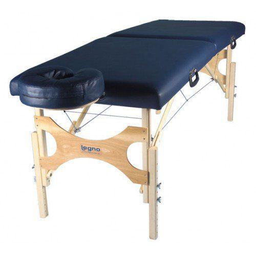 Maca de massagem portátil com altura regulável Antares -  Legno