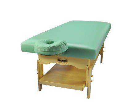 Maca De Massagem Fixa Com Altura Regulável e Prateleira Inferior Plêiades Spa - Legno