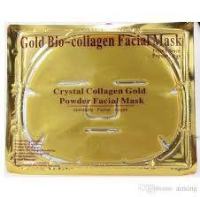 Máscara dourada em Gel - WL Importação