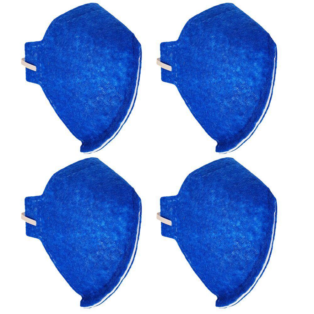 Máscara N95 Pff2  Proteção Respiratória  Sem Válvula