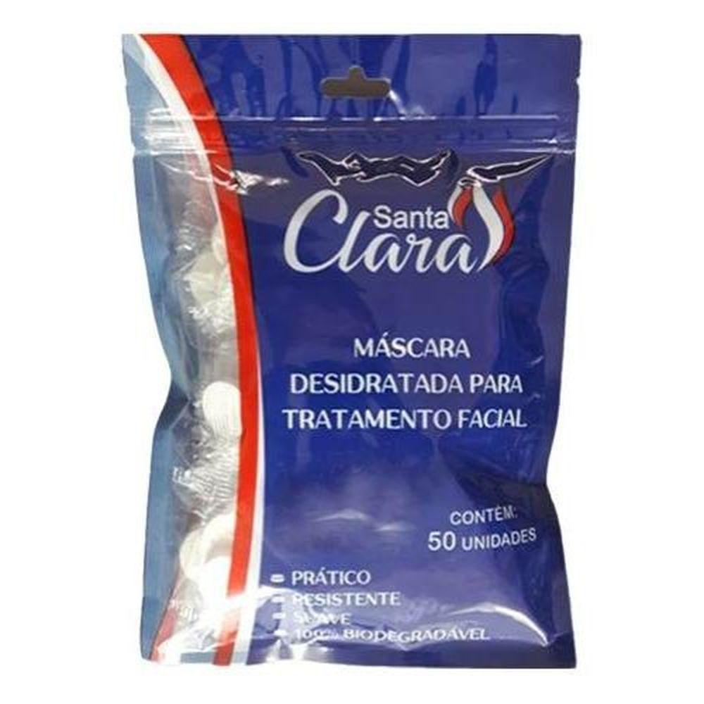 Máscara Desidratada para Tratamento Facial c/50- Santa Clara