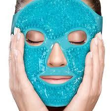 Máscara Calmante De Gel Para o Rosto - Santa Clara