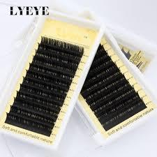 Mix Cílios Fio a Fio Mink Ly Eye - Espessura 0.15 Curvatura C