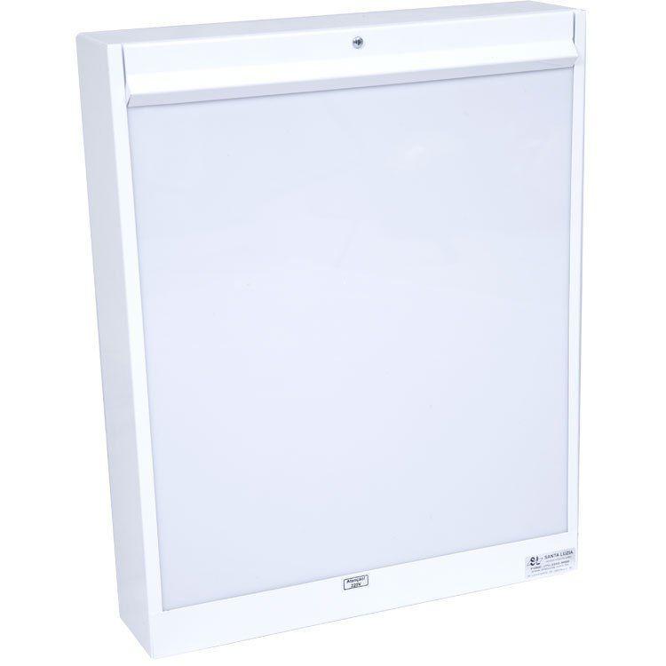 Negatoscópio Branco Simples 110/220  44x35 -Aconox