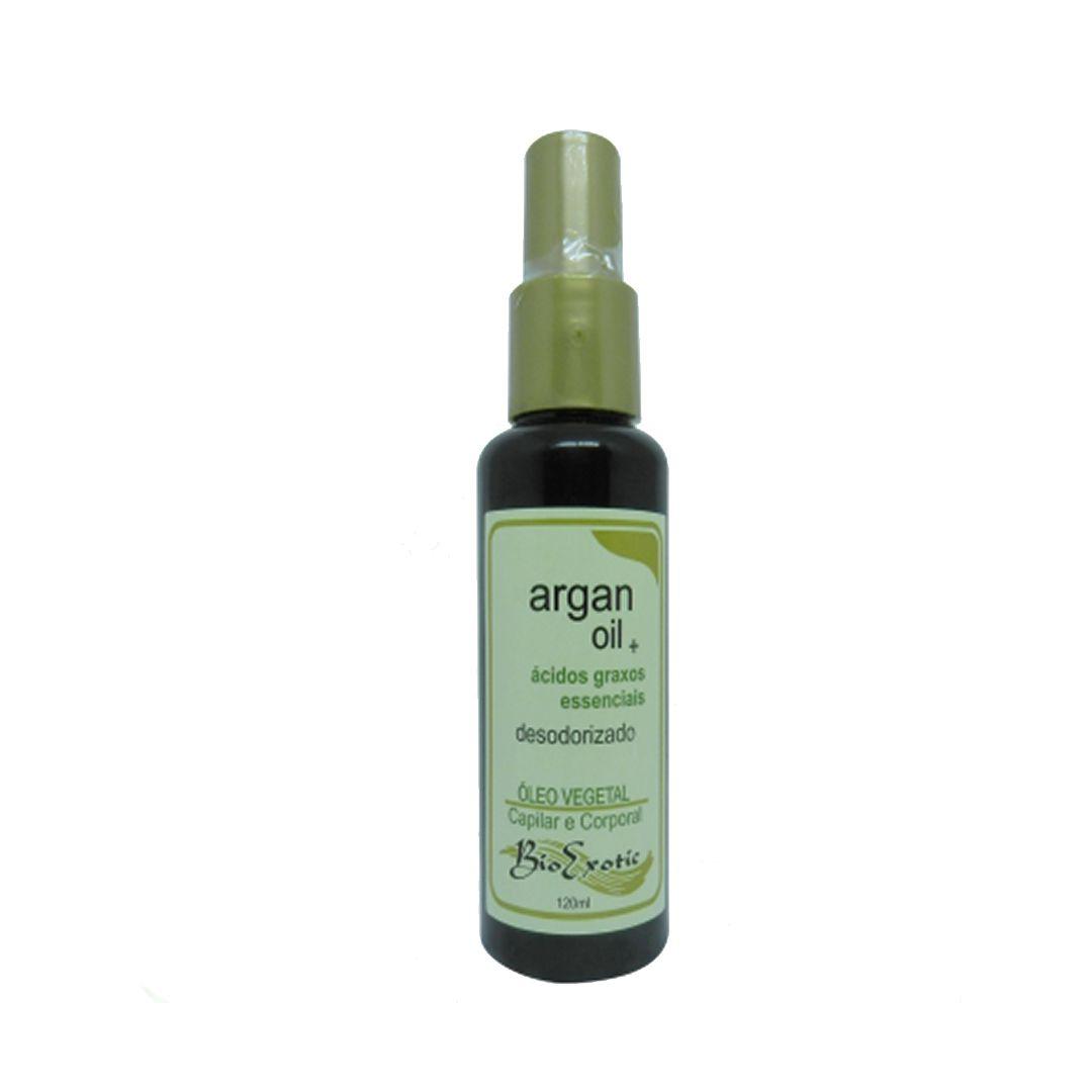 Óleo Vegetal de Argan Desodorizado-Bio Exotic
