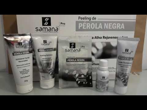 Kit Peeling de Pérola Negra USO PROFISSIONAL - Samana