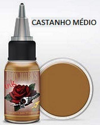 Pigmento Iron Works - Castanho Médio - 15 ml