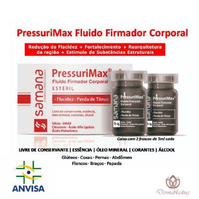 Pressurimax Fluído Firmador Corporal 2 unidades de 5ml - Samana
