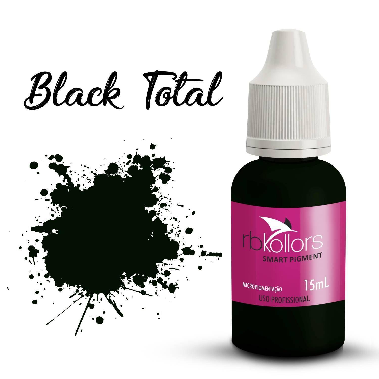 Pigmento Rb Kollors Total Black - 15ml
