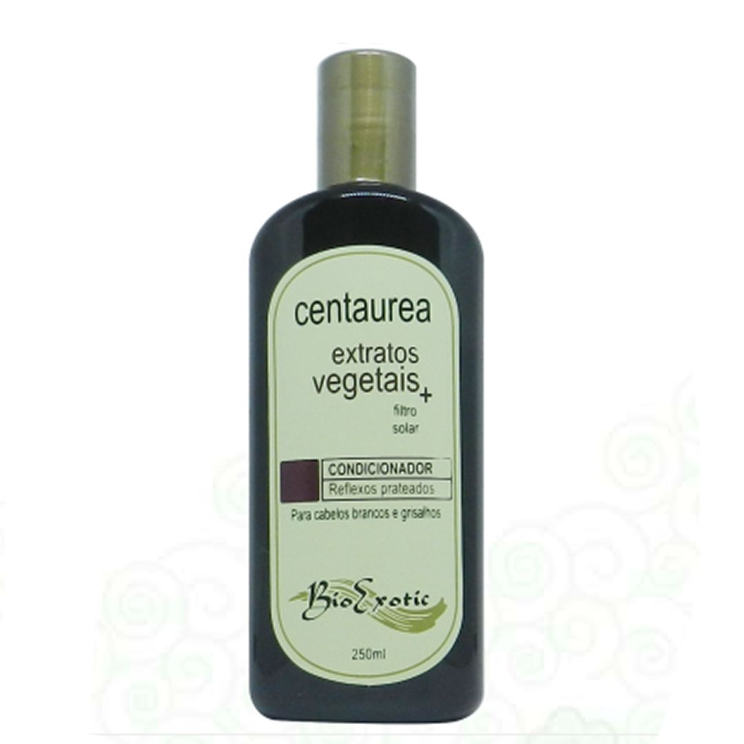 Recondicionador para cabelos Brancos e Grisalhos- BioExotic