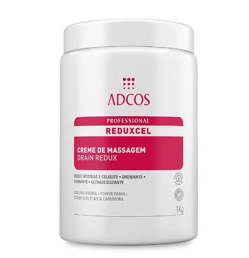 REDUXCEL Creme de Massagem Drain 1kg - Adcos