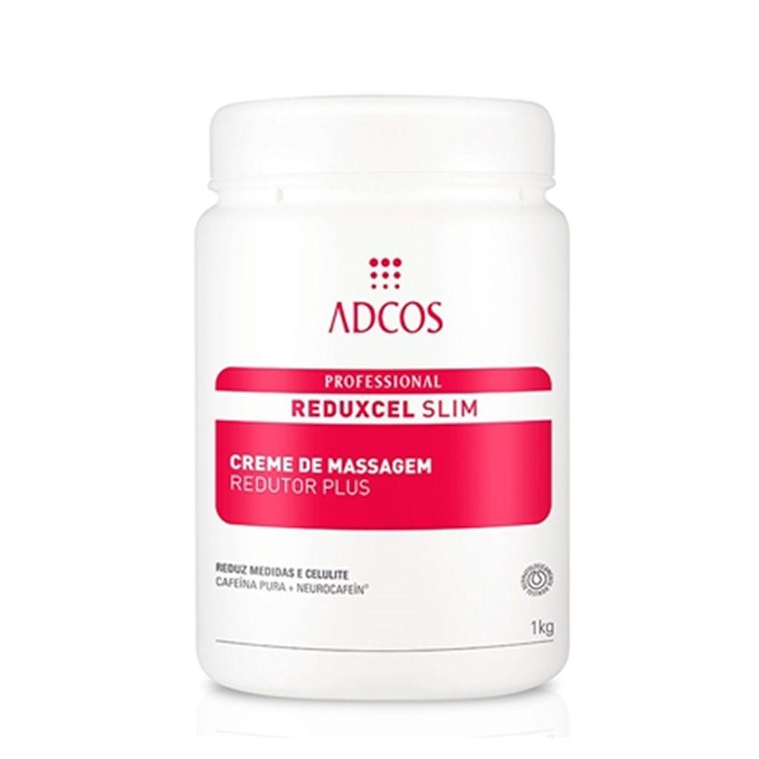 REDUXCEL Slim Creme de Massagem Redutor Plus 1kg - Adcos