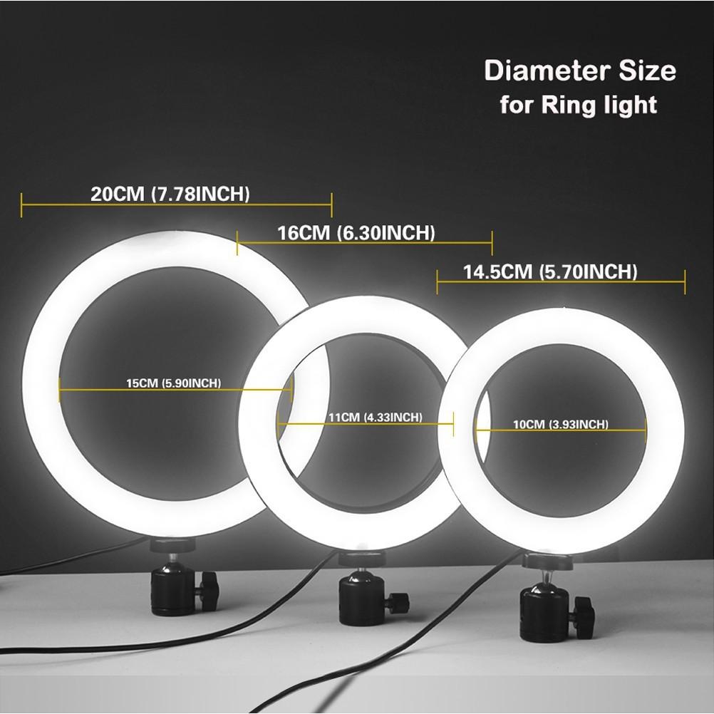 Ring Light Led 45cm C/ Tripé Profissional