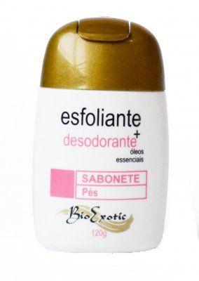 Sabonete Esfoliante e Desodorante Para os Pés - Bio Exotic