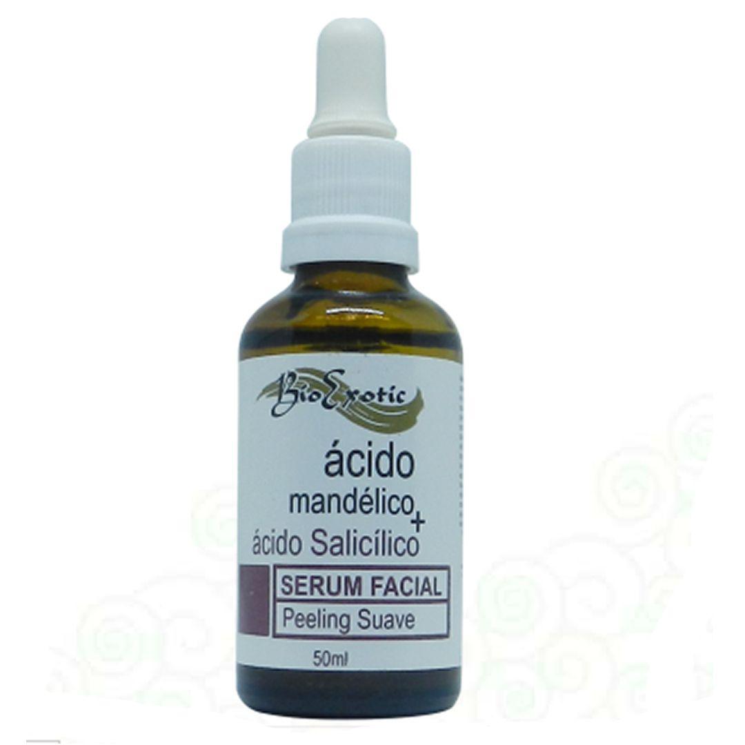 Serum Facial com Ácido Mandélico e Ácido Salicílico 50ml Bioexotic
