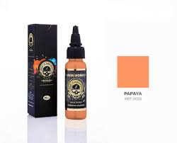 Tinta Iron Works para Tatuagem -Papaya