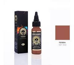 Tinta Iron Works para Tatuagem - Terra