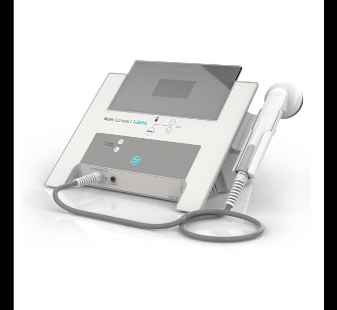 Ultrassom Novo Sonic Compact 1-3 MHz HTM - Aparelho de Ultrassom para Estética e Fisioterapia