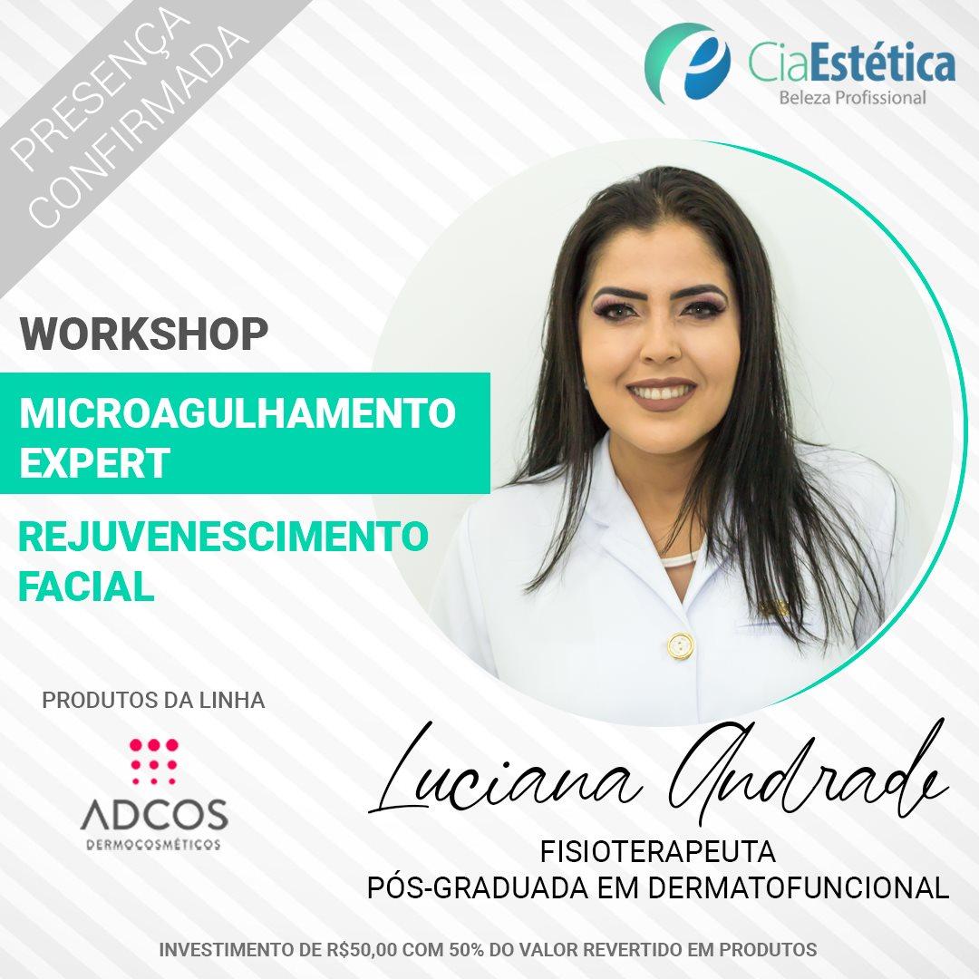 Workshop Micoragulhamento Expert - Rejuvenescimento Facial