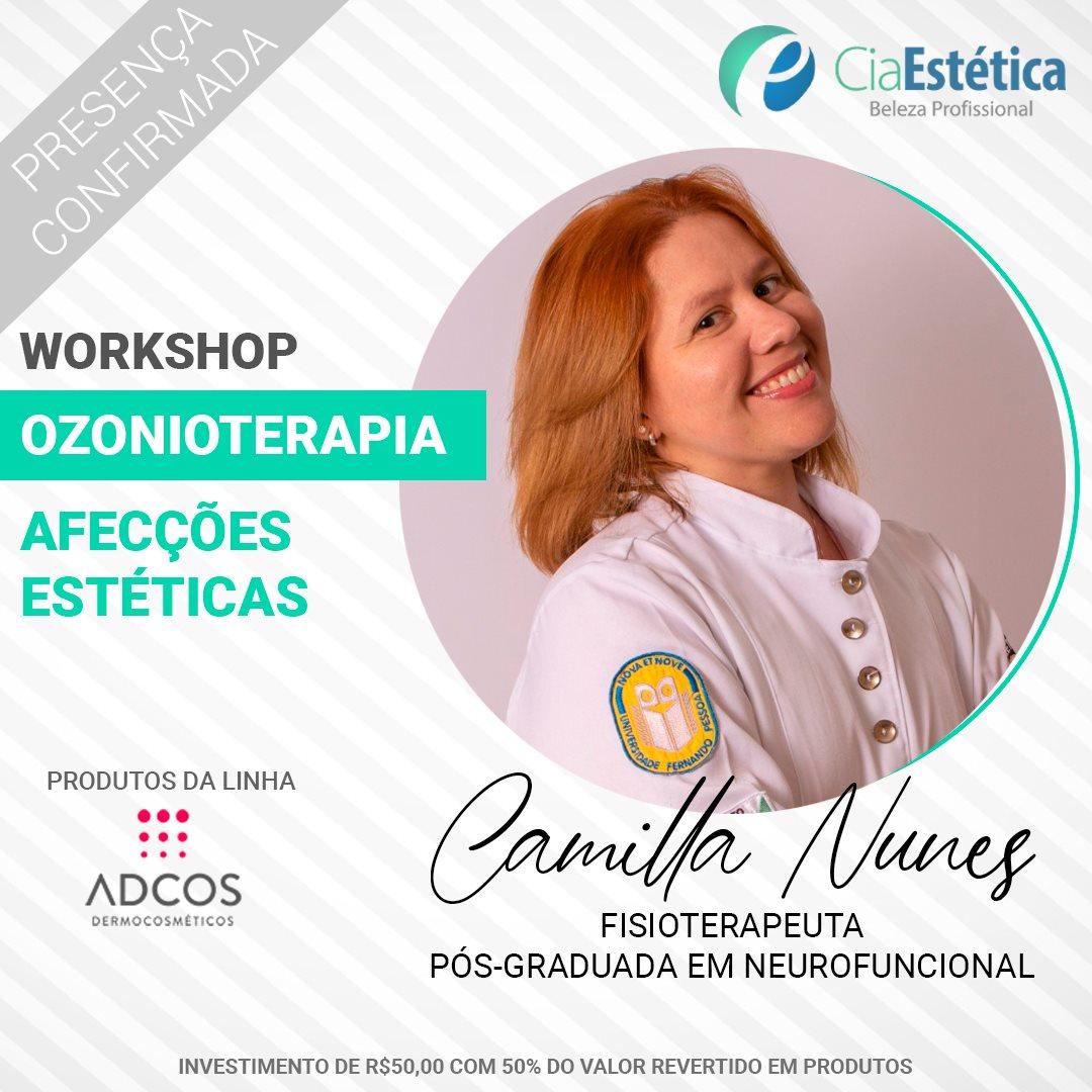 Workshop Ozonioterapia - Afecções Estéticas