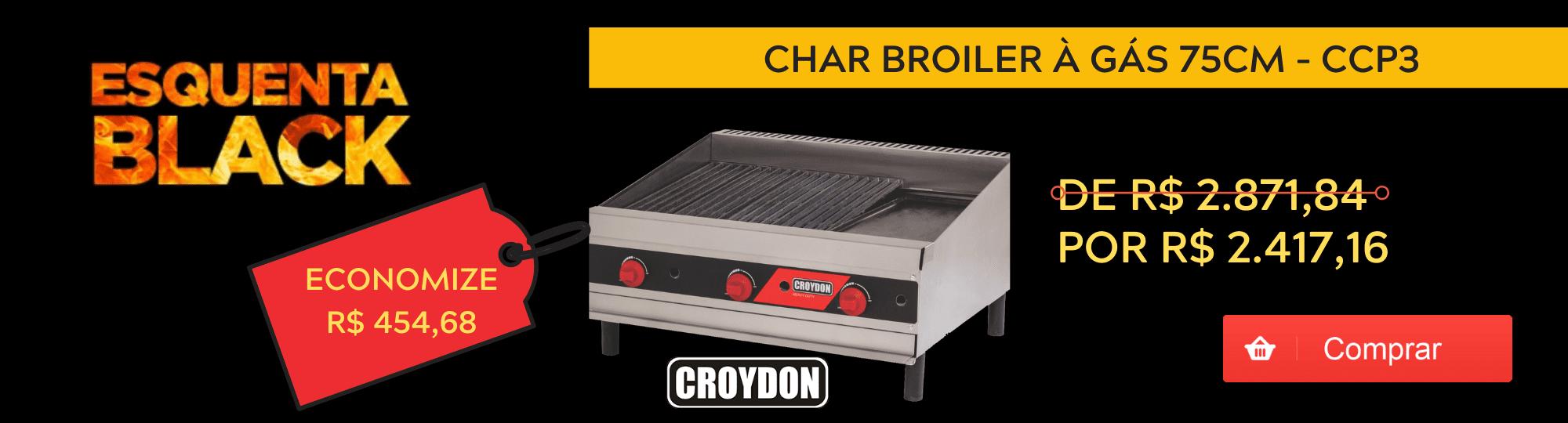 Char Broiler a Gas 75cm Croydon