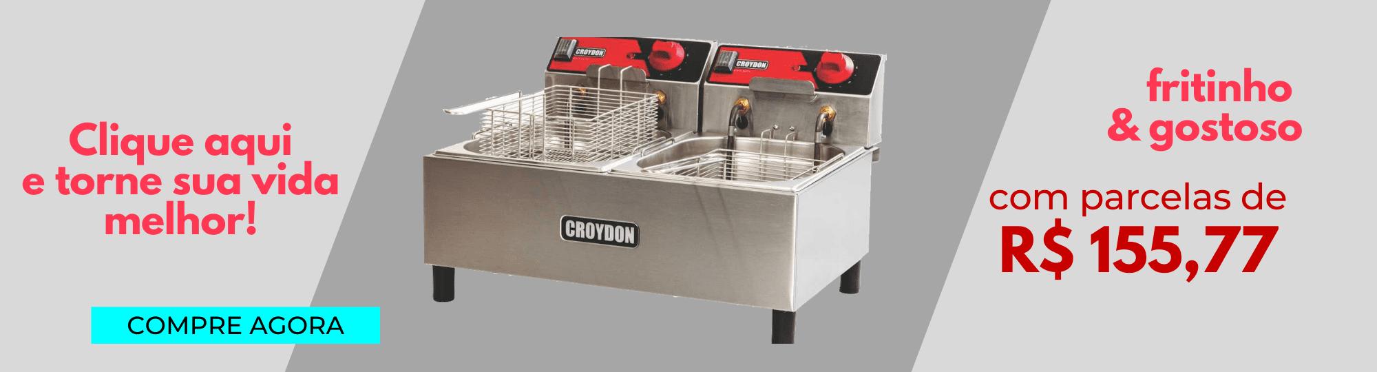 Super Promoções - Fritadeira Elétrica Dupla - Croydon