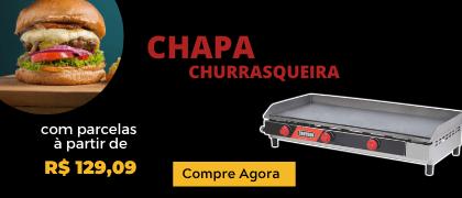 Super Promoção - Chapa Churrasqueira - Croydon