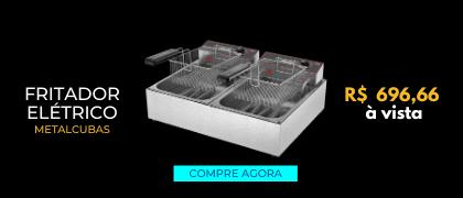 Fritadeira Elétrica - Metalcubas