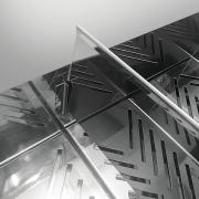 Detalhe da divisória de conservador de batata Metalmaq 500W