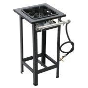 Fogão Industrial 1 Boca Alta Pressão 30x30 S2000 - Metalmaq