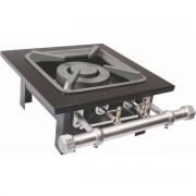Fogão Industrial 1 boca dupla de mesa grelha 30X30 S2000