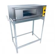 Forno Industrial eletrico 70X50 1 camara 220V Metalmaq