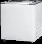 Freezer horizontal 216 L tampa de vidro Fricon