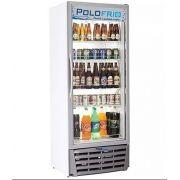 Expositor de bebidas com porta de vidro